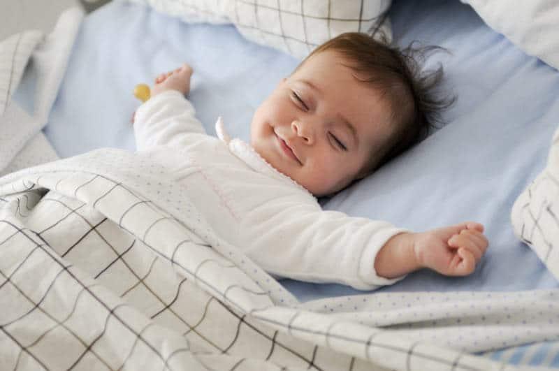 baby sleeping quietly